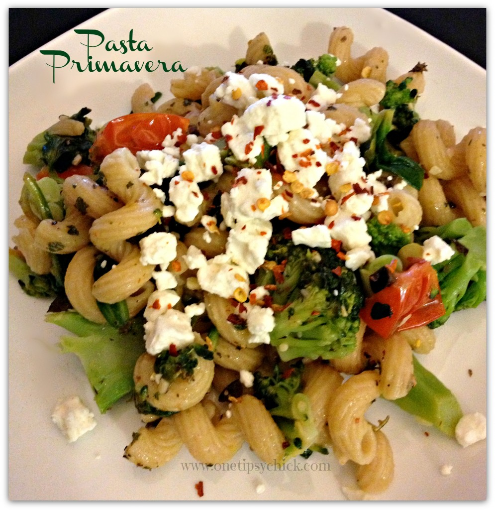 What's For Dinner #1 – Pasta Primavera