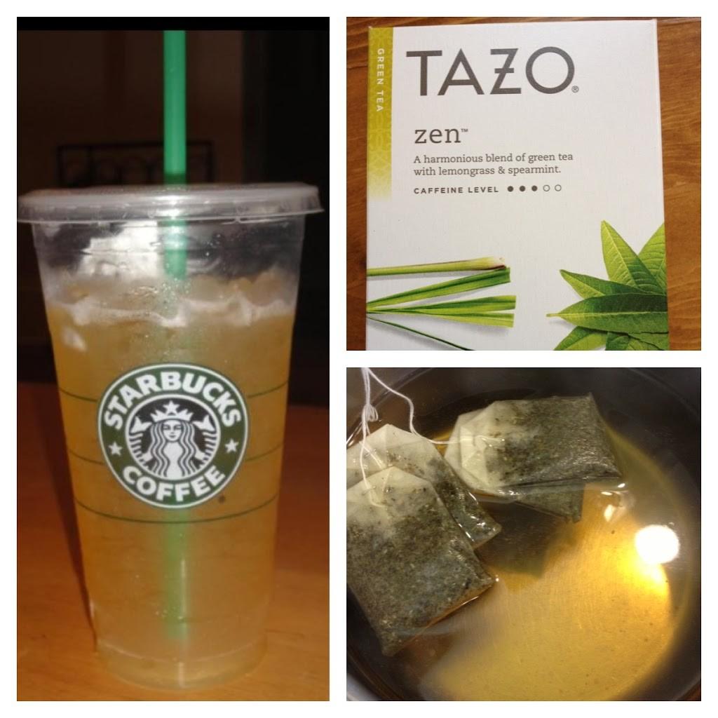 Starbucks Venti Iced Green Tea for under a Quarter!