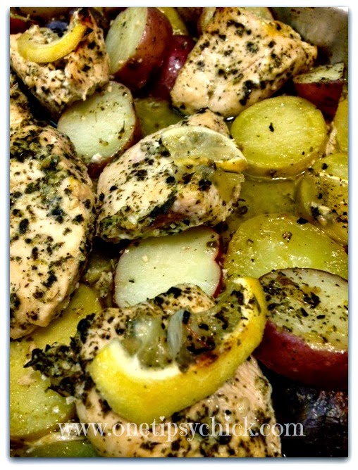 Greek Style Lemon Chicken