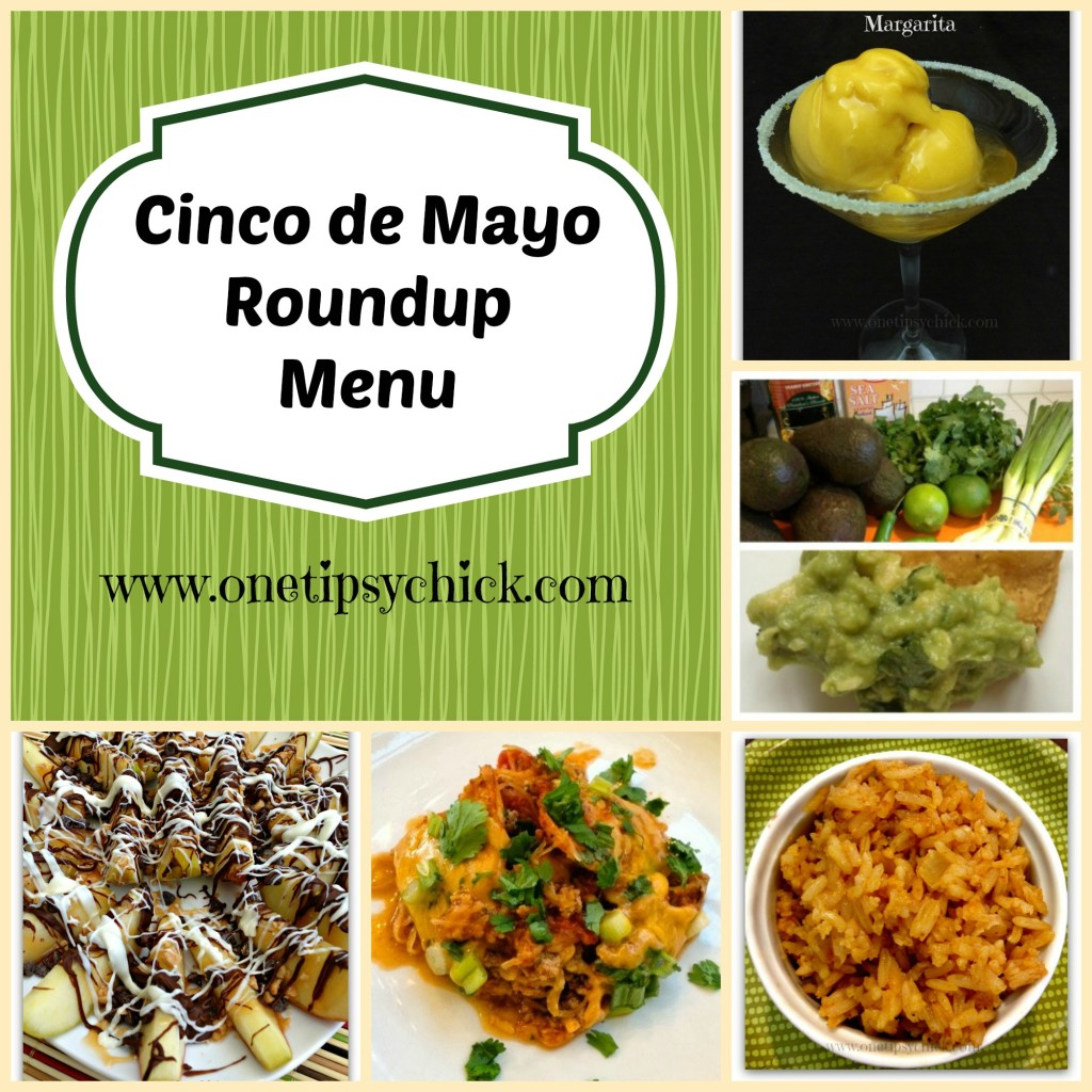 Cinco de Mayo Roundup Menu