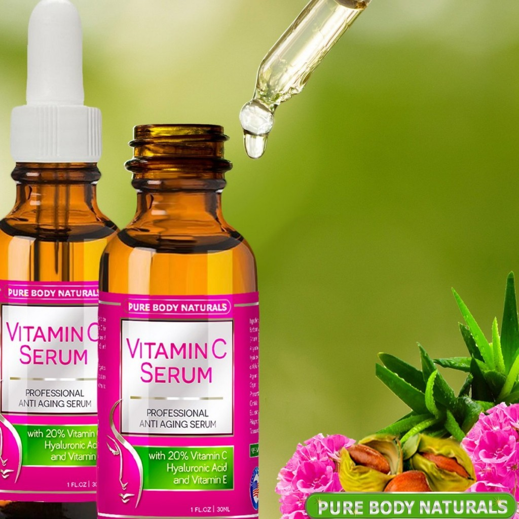 Pure Body Naturals Vitamin C Serum Review