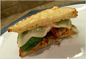 meatloaf pizza panini