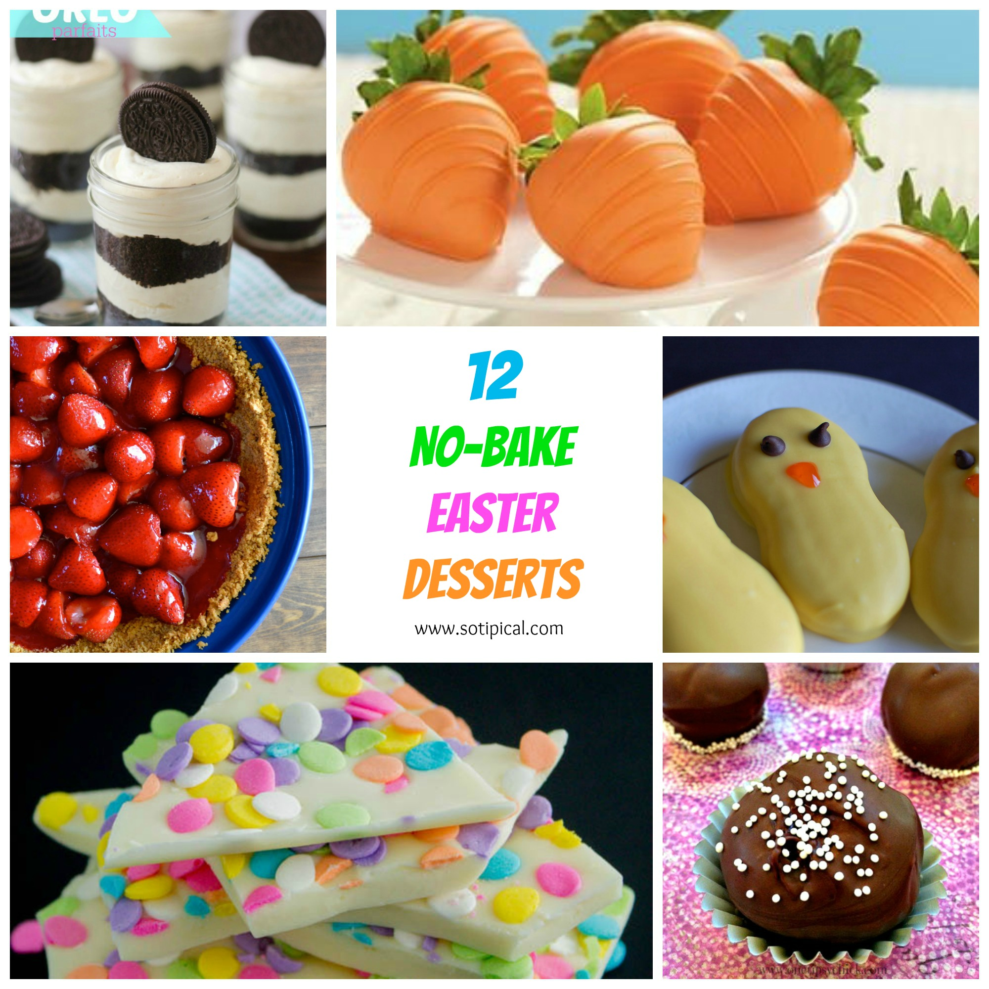 12 no bake easter desserts for Good desserts for easter