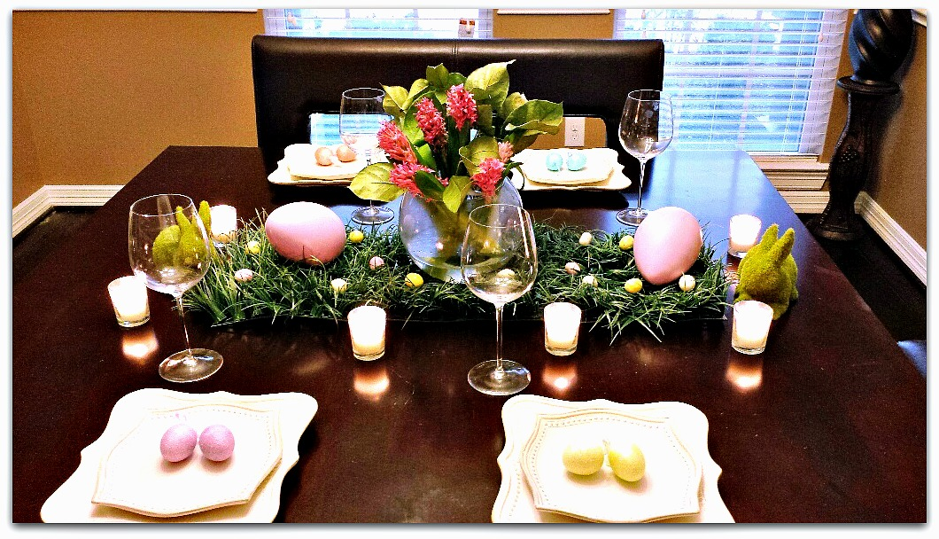 Simple Ideas For Easter Table Decor