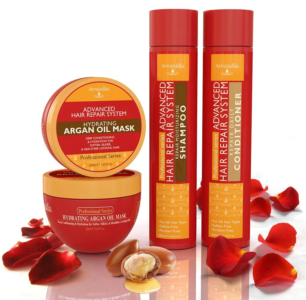arvazallia hair repair set