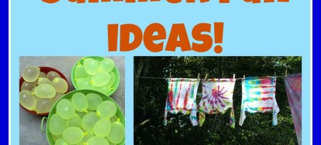 25 Summer Fun Ideas