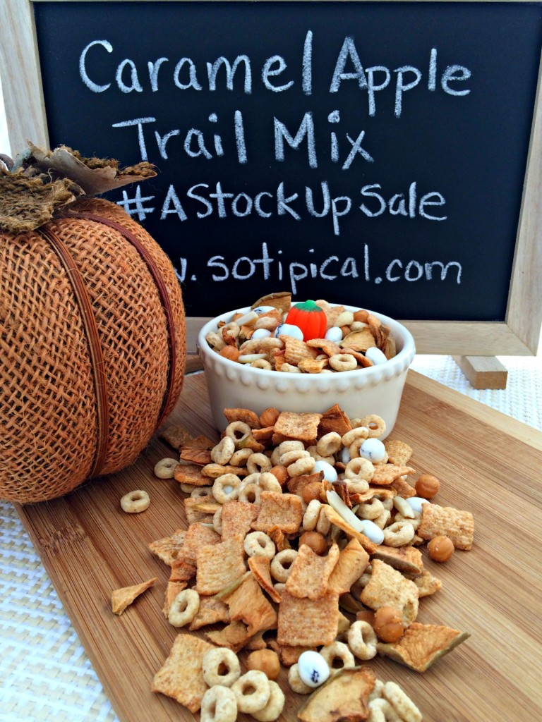 caramel apple trail mix astockupsale