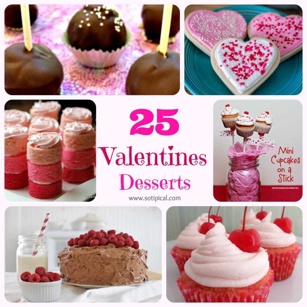 25 valentines desserts so tipical me - Desserts valentines day ...