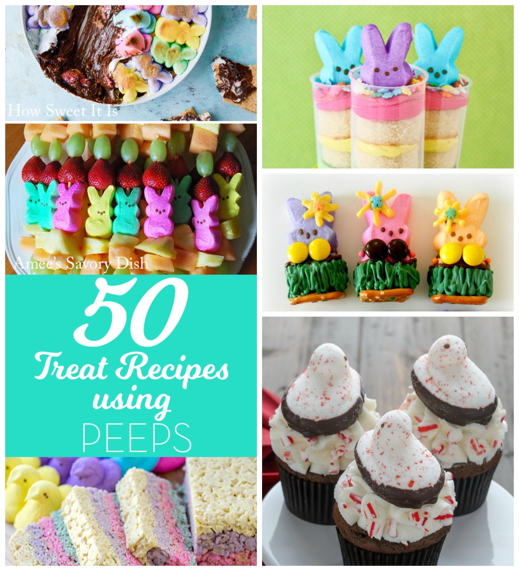 50 Recipes Using Peeps