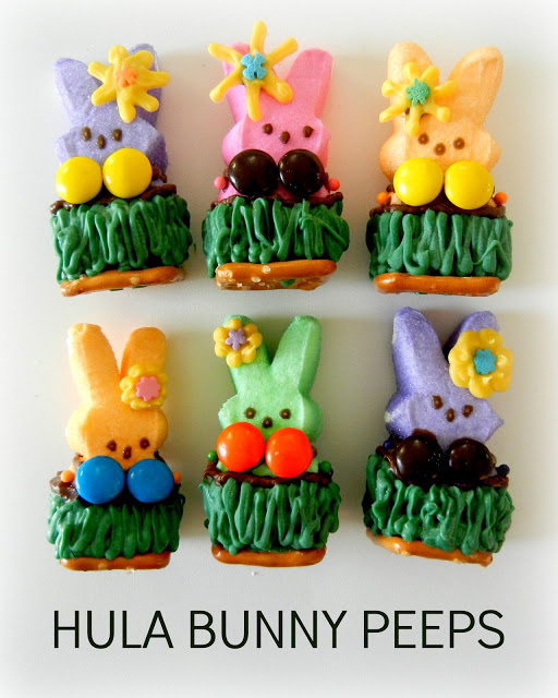 hula peeps sugar swings