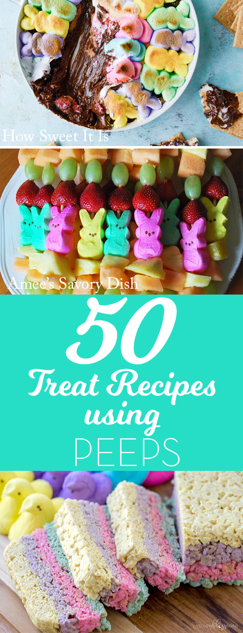 50 recipes using peeps