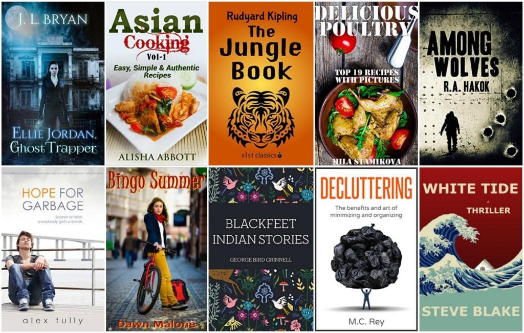 amazon kindle free books today