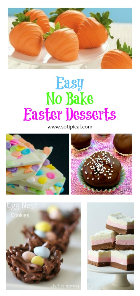 easy no bake easter dessert pinterest