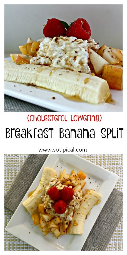 Breakfast Banana Split - So TIPical Me