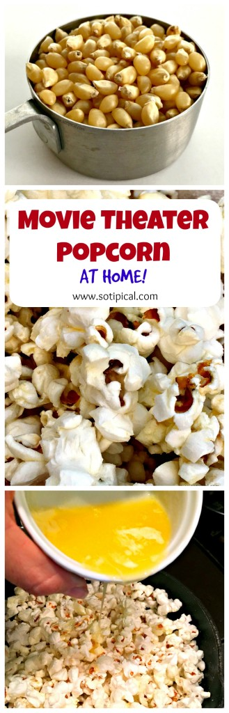 Make Movie Theater Popcorn At Home