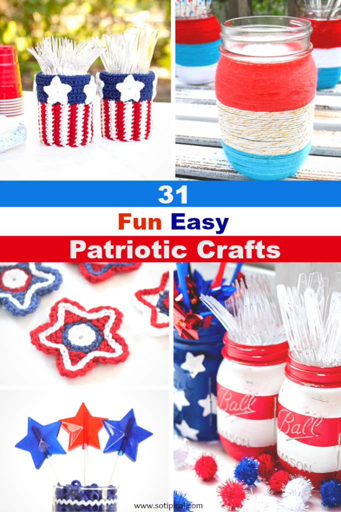 31 fun easy patriotic crafts main