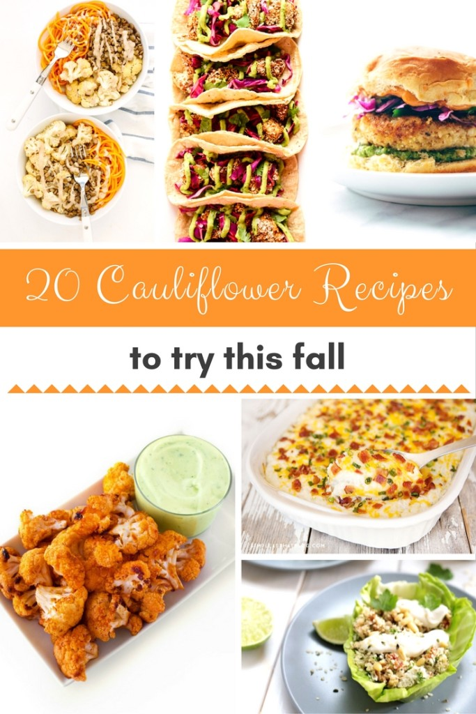 20 Best Cauliflower Recipes