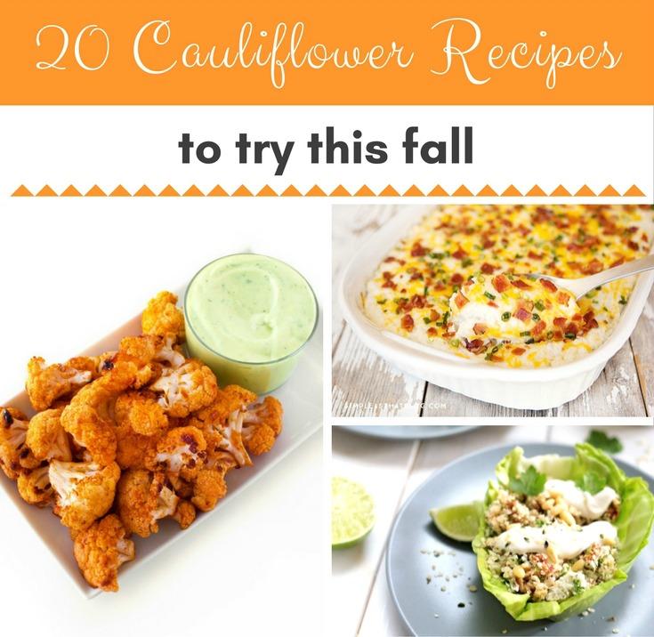 best cauliflower recipes