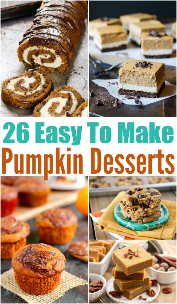 Easy Pumpkin Desserts