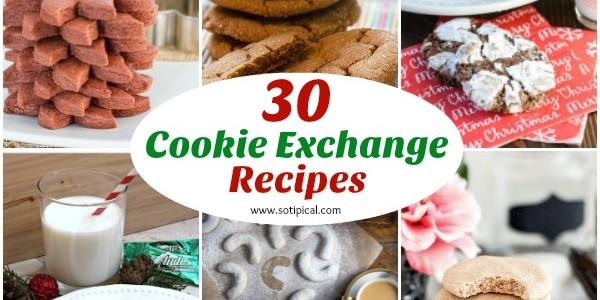 30 Cookie Exchange Recipes