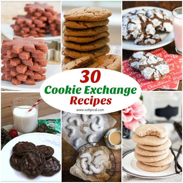 30 Cookie Exchange Recipes