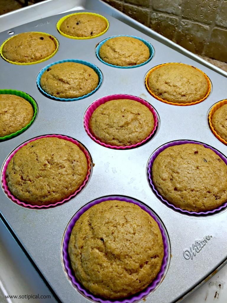 pancake muffin baked