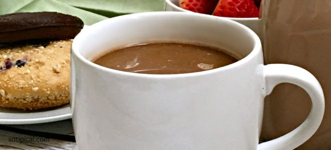 Homemade Almond Joy Coffee Creamer