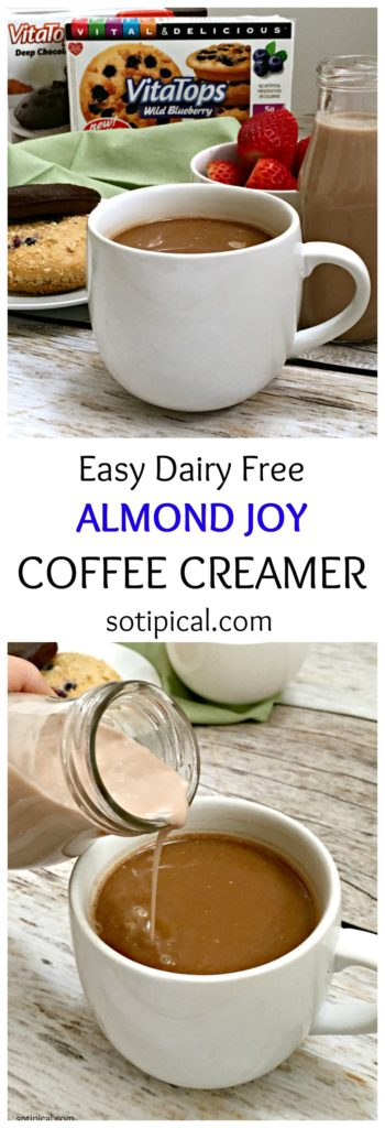 Almond Joy Coffee Creamer - So TIPical Me