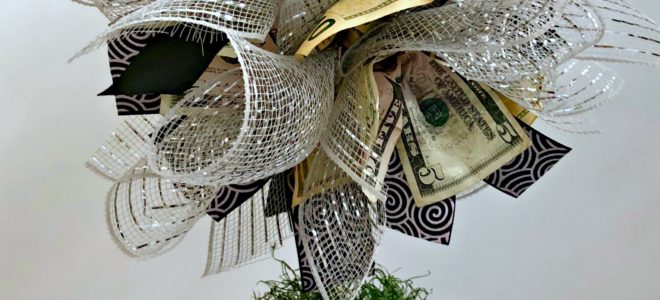 DIY Money Tree Gift Idea