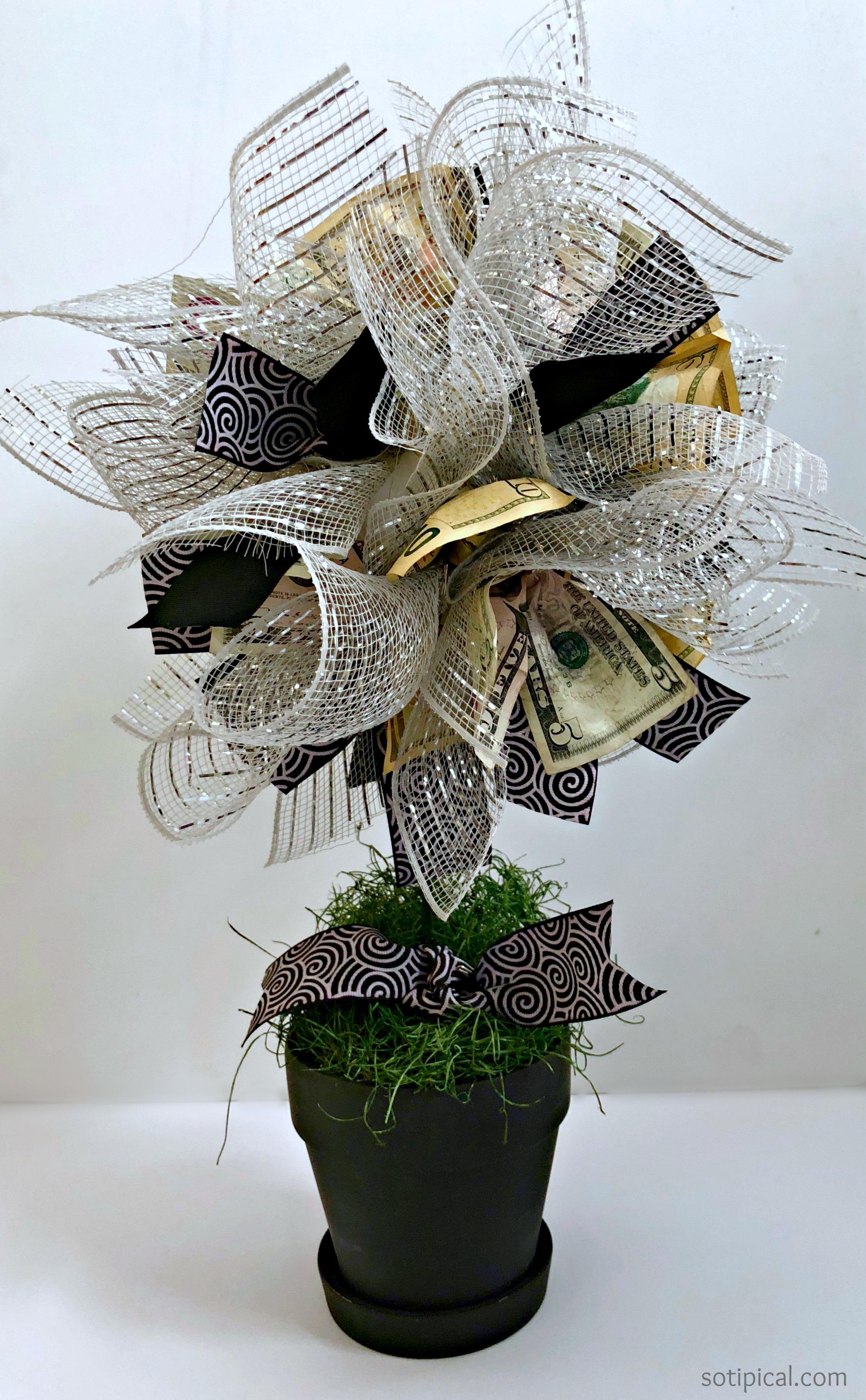 Diy Money Tree Gift Idea So Tipical Me
