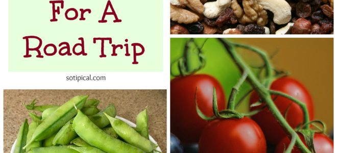Healthy Snack Ideas For A Road Trip