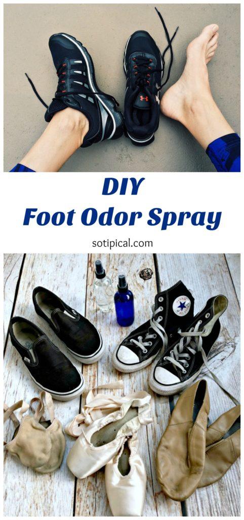 foot odor spray