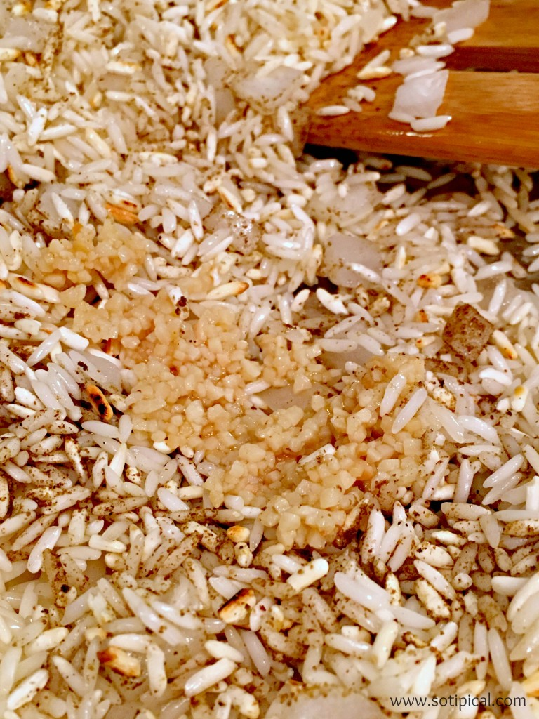 spanish rice cumin garlic