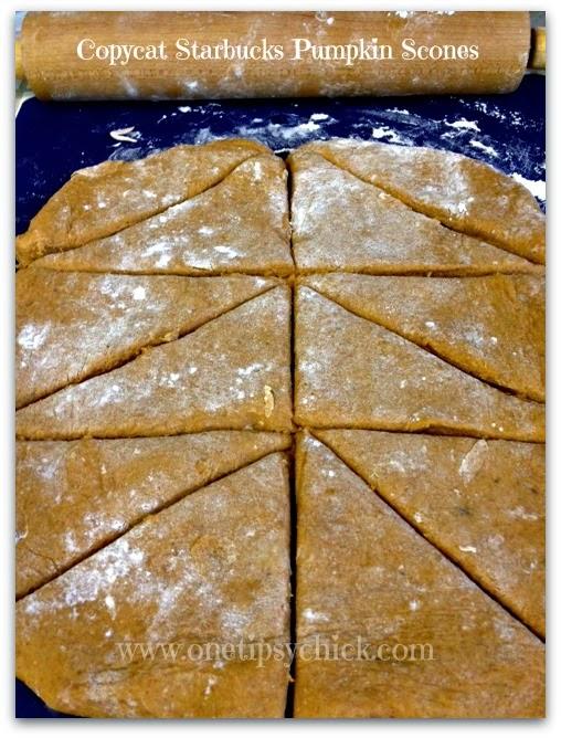 copycat starbucks pumpkin scones