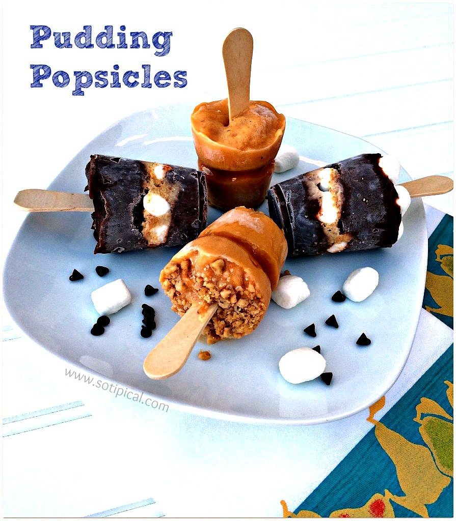 Pudding Popsicles
