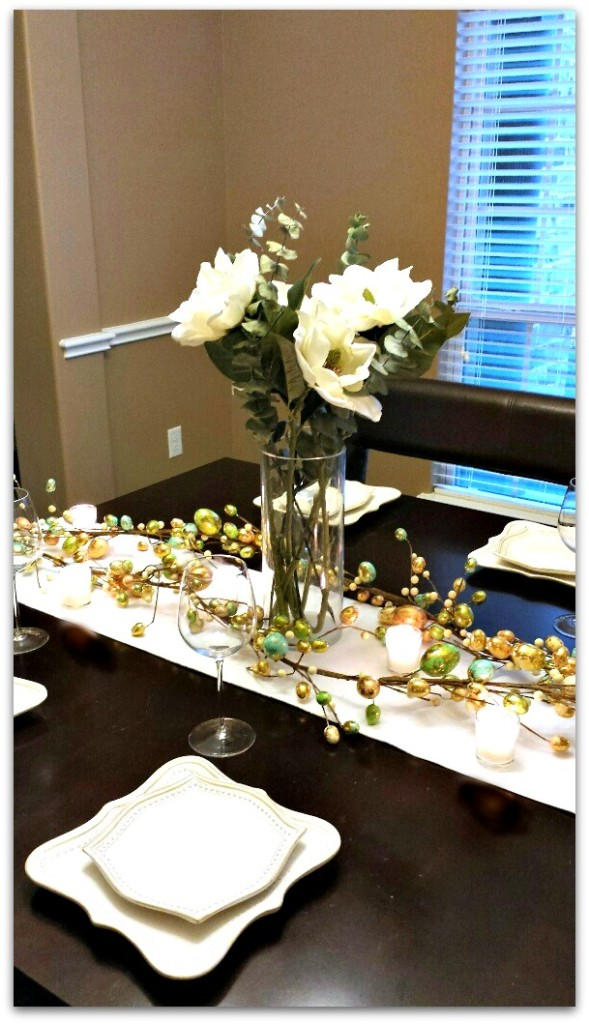Elegant Easter Table 2