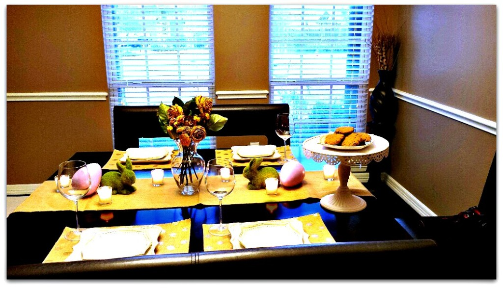 Rustic Easter Table 1