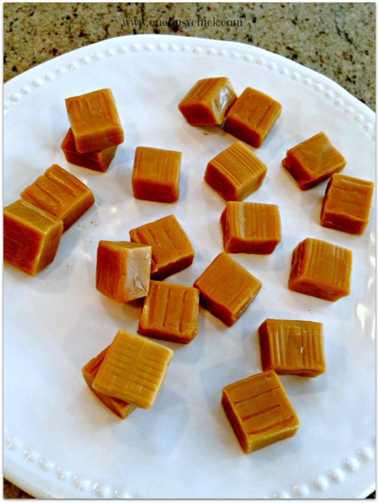 toffee caramel tart caramels