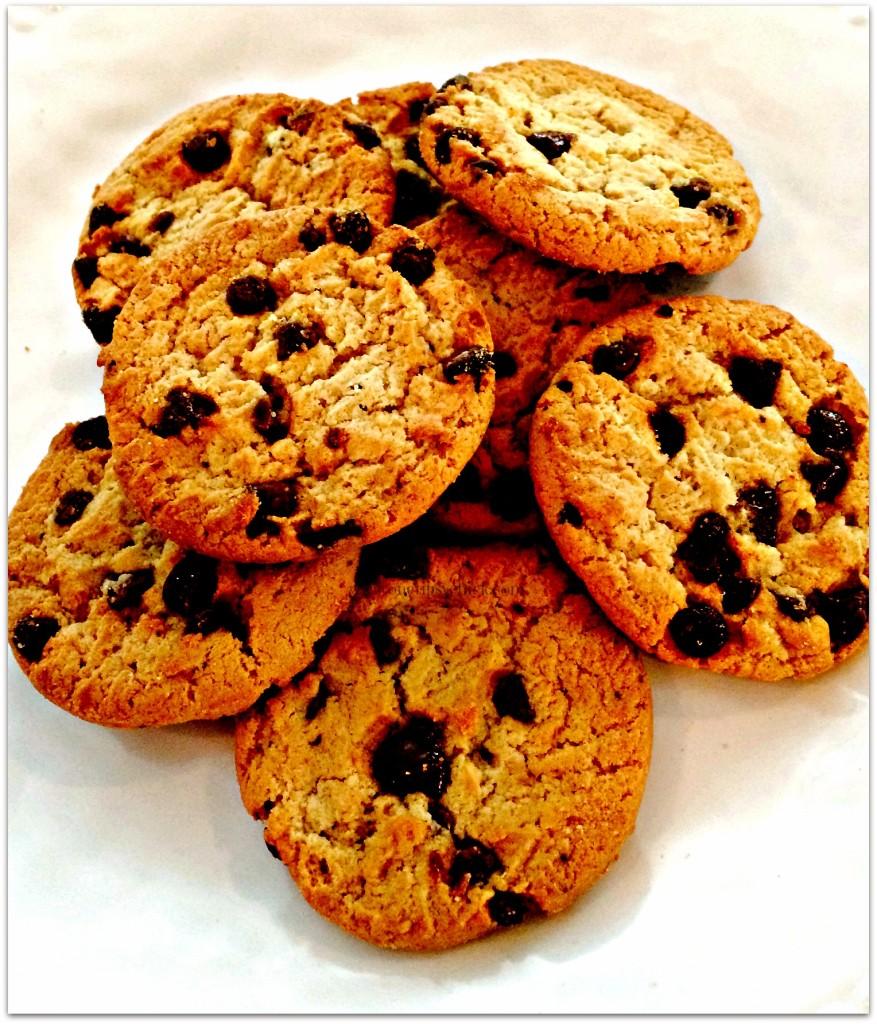 toffee caramel tart cookies