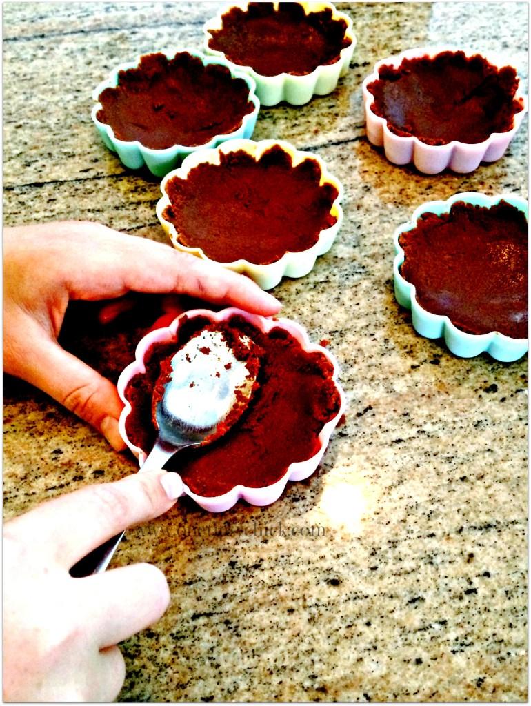 toffee caramel tart mold