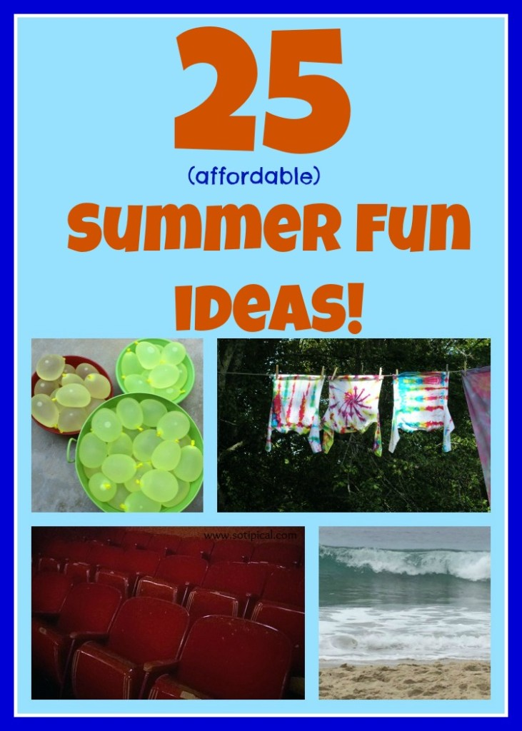 25 summer fun ideas