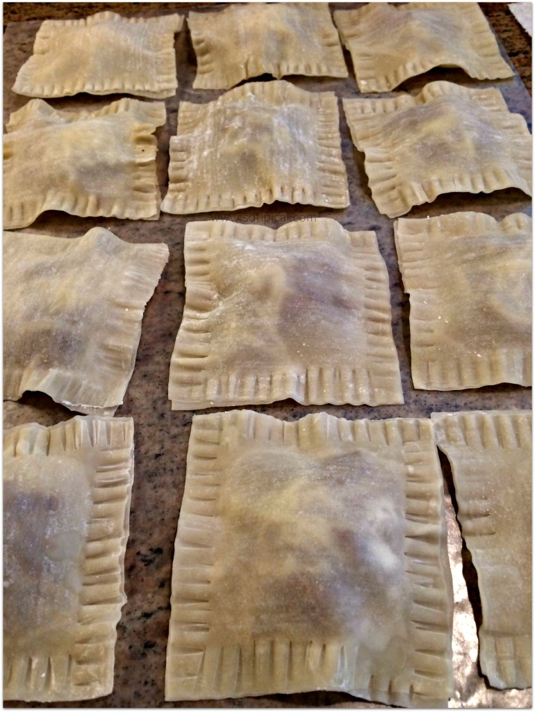 easy homemade ravioli filled