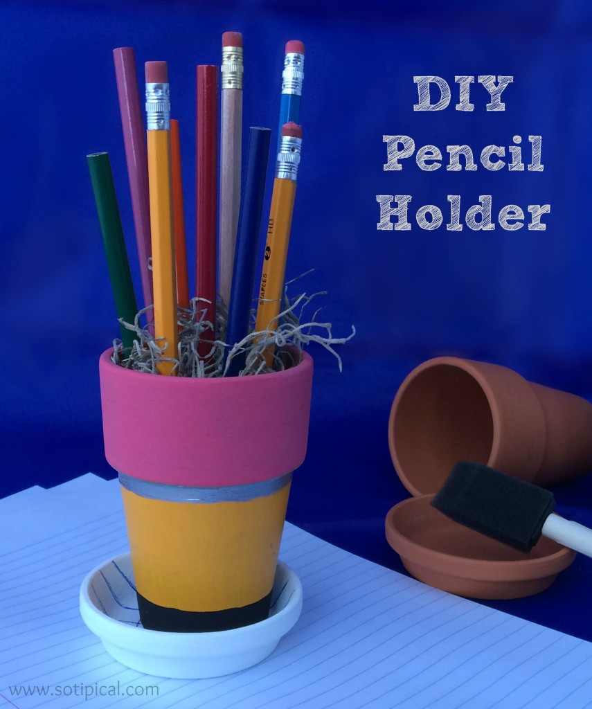 diy pencil holder main