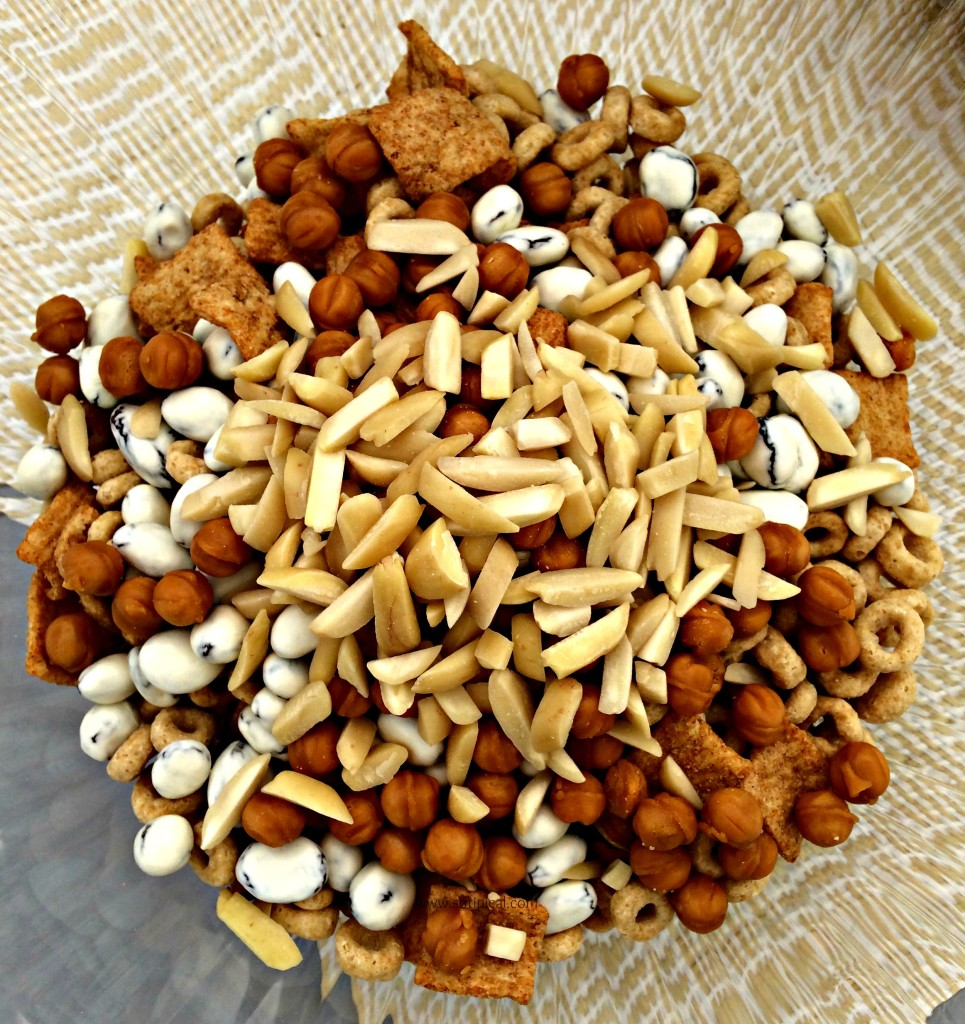 caramel apple trail mix ingredients