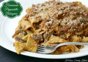 Homemade Pappardelle Bolognese 10 turkey dinner alternatives