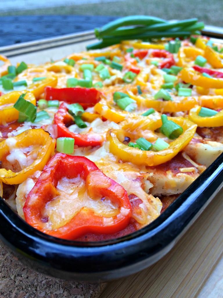 spicy chicken tamale pie