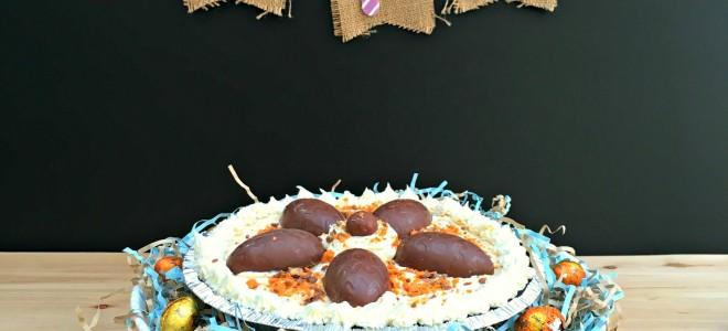 No Bake BUTTERFINGER ® Cheesecake