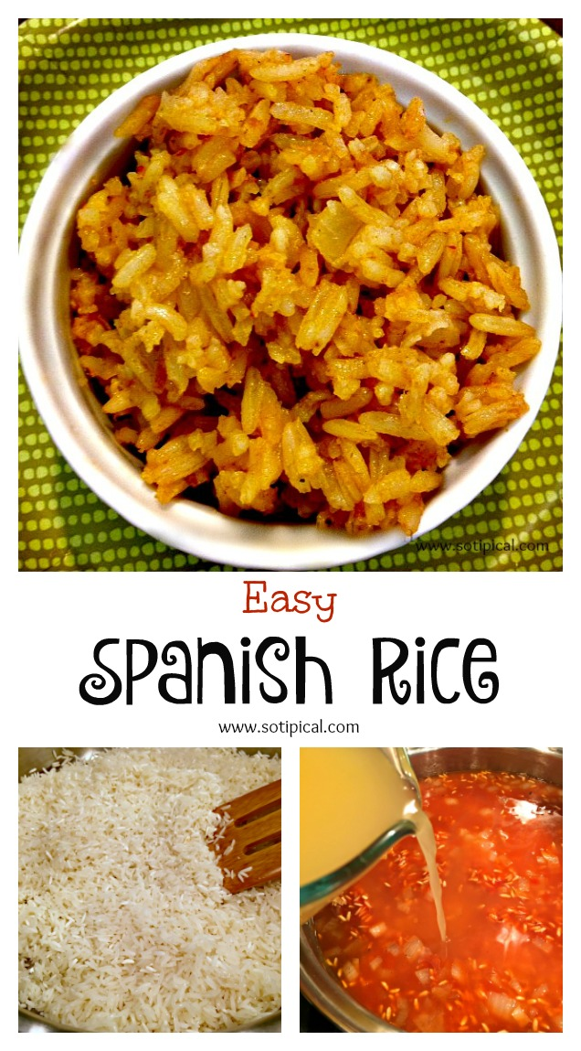 spanish rice pinterest