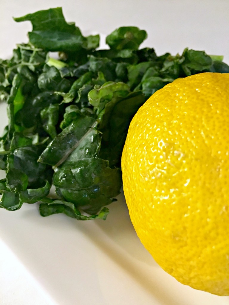 lemon kale