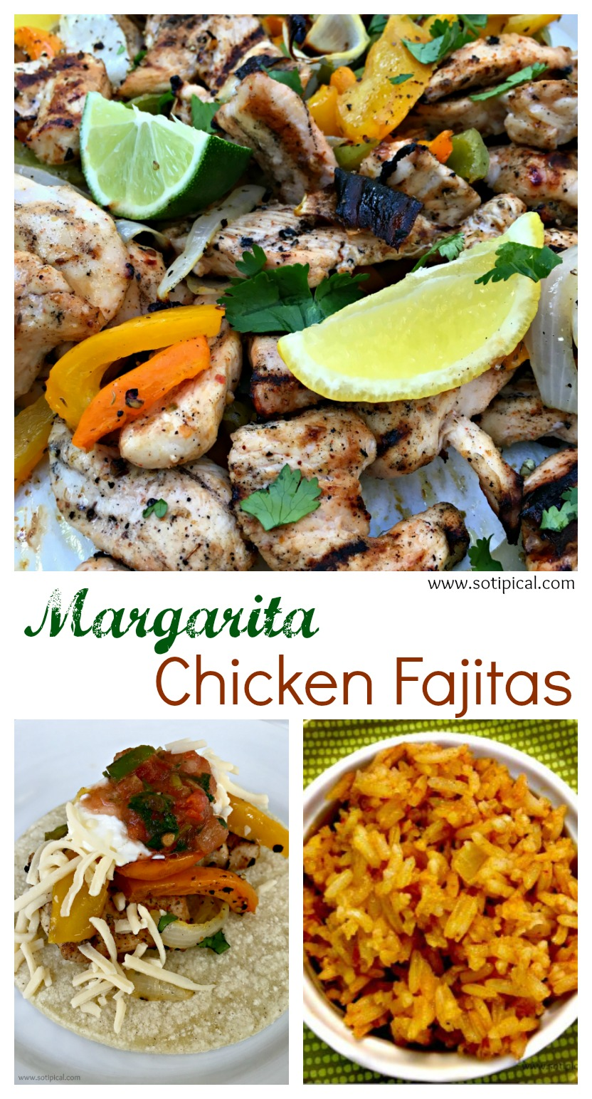 margarita chicken fajitas pinterest